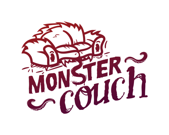 Monster Couch}'s logo